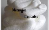 Meringue française à cuisson douce