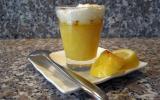 Crème de citron meringuée en verrine