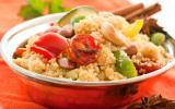 Couscous aux légumes et à la viande - Le goût du voyage - Maroc