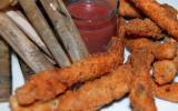Couteaux panés en friture