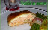 Feuilleté au saumon rapide