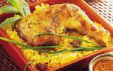 Cuisse de poulet à l'indienne