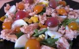 Salade de saumon grillé