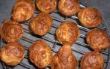 Muffins au jambon de Parme, parmesan et herbes de Provence