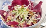 """Salade d""""endives, saumon et sauce ciboulette"""
