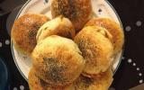 Buns fourrés à la viande de boeuf hachée ou poulet et mozarella