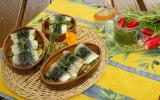 Sardines farcies au pesto de fanes de radis