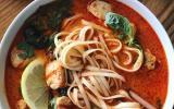 Soupe crémeuse aux saveurs thaïlandaises