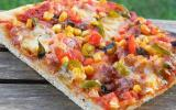 Pizza mexicaine traditionnelle