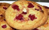 Cookies framboise-chocolat blanc