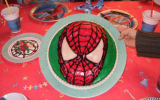 Gâteau anniversaire Spiderman