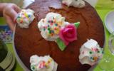 Gâteau au yaourt et amande