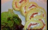 Roulé de pommes de terre au saumon fumé et boursin