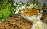 Tranche de thon grillée à l'échalote