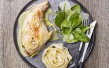 Cuisses de lapin au citron et parmesan