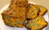 Cake sans gluten épinards et fromage