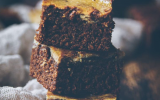 Cake marbré choco-pistache