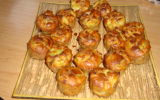 Muffins courgettes et lardons