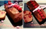 Cake framboises - Praliné rose