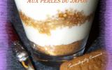Tiramisu aux perles du Japon