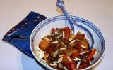 Wok de légumes sucrés salés