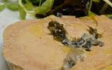 """Terrine de foie de canard aux huitres d""""Arcachon-Cap-Ferret"""