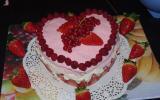 Gâteau aux fruits rouges facile