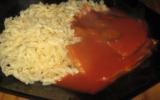 Langue sauce tomate