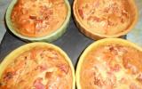 Clafoutis au jambon et à la mimolette
