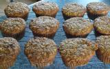 Muffins aux carottes et noix