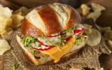 Burger veggie au tempeh