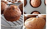 Muffins banane (chocolat)