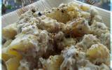 Salade de pommes de terre et maquereau