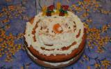 Gâteau à la crème chantilly