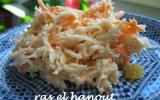 Coleslaw allégé au yaourt nature