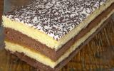 Gâteau napolitain aux spéculoos