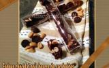 Fudges chocolat noir beurre de cacahuètes et cacahuètes salées