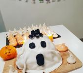 Gâteau Fantôme d'Halloween