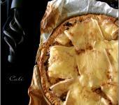 Tarte à la choucroute et au fromage à raclette