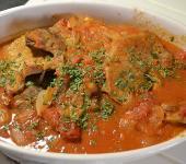 Côtes de porc tomates