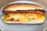 Hot-dog façon bistrot