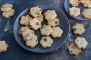 Sablés sans gluten aux cranberries (sans oeufs, sans beurre)