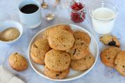 Cookies à la patate douce et chocolat noir (sans beurre)