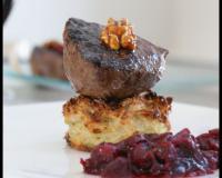 Recettes de biche aux pommes de terre les recettes les - Cuisiner un roti de biche ...