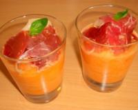 recettes de soupe de melon les recettes les mieux not es. Black Bedroom Furniture Sets. Home Design Ideas