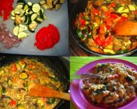 Recettes de tchaktchouka les recettes les mieux not es for Tchoutchouka kabyle