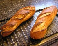 Recettes de pain maison les recettes les mieux not es for Baguette du maison