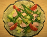 recettes de salade de haricots verts les recettes les mieux not es. Black Bedroom Furniture Sets. Home Design Ideas
