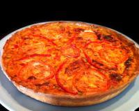 Recettes de quiche la tomate et mozzarella les recettes les mieux not es - J ai attrape un coup de soleil ...