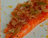 Recettes de saumon gravlax les recettes les mieux not es - Saumon gravlax rapide ...